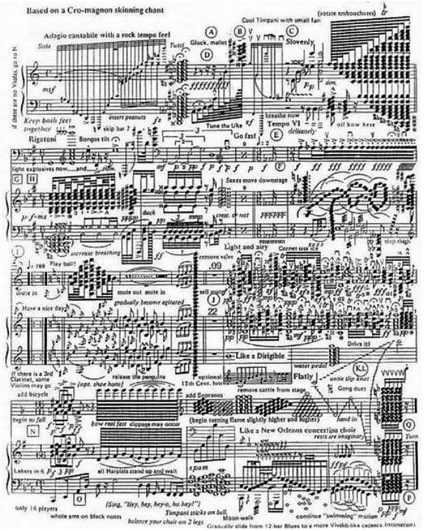 If 2020 was a piece of sheet music...