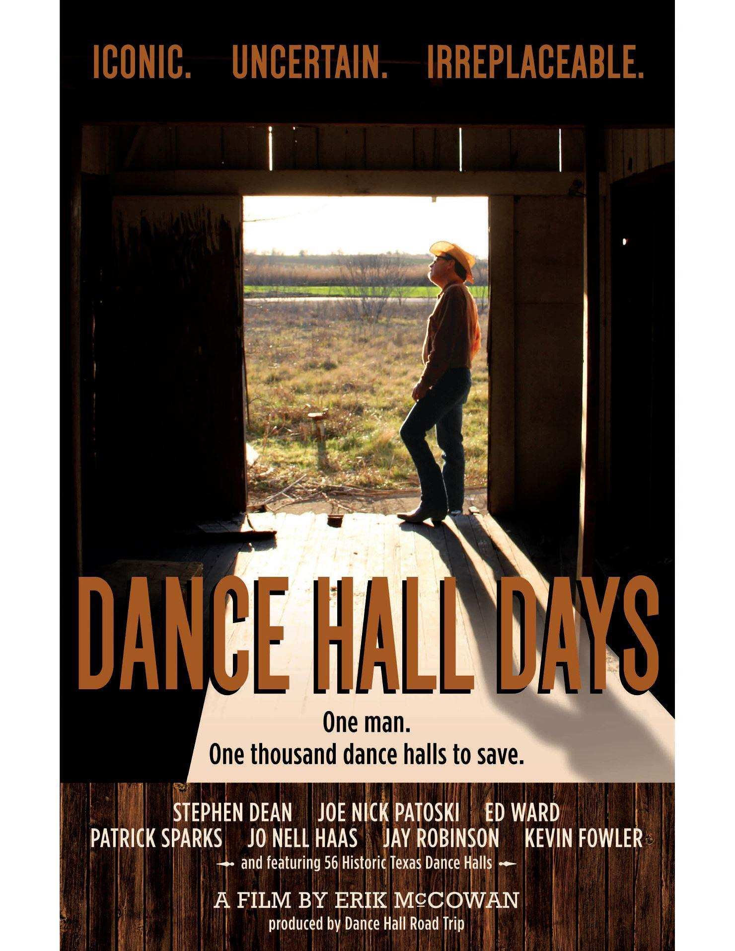 See the film Dance Hall Days at the TCGS program on Jan. 25. Producer Erik McCowan will be on hand to talk about the making of the film and the influence Texas Czechs had on establishing many of the state's dance halls. Theresa Cernoch Parker and Gary E.