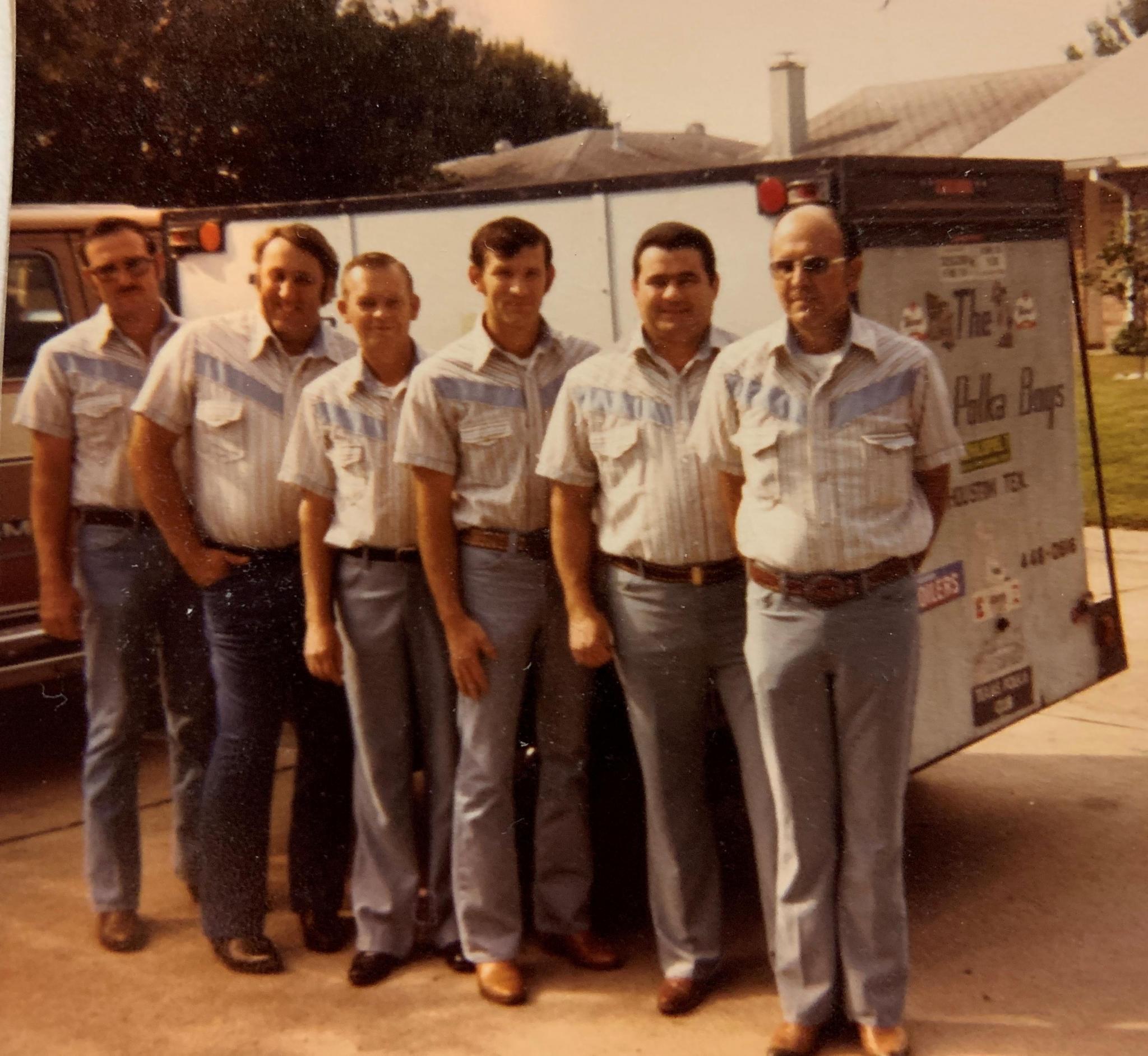 City Polka Boys Harry Macik, Hubert Janak, Benny Okruhlik, Wes Matus, James Ohnheiser, E. J. Macik - 1976
